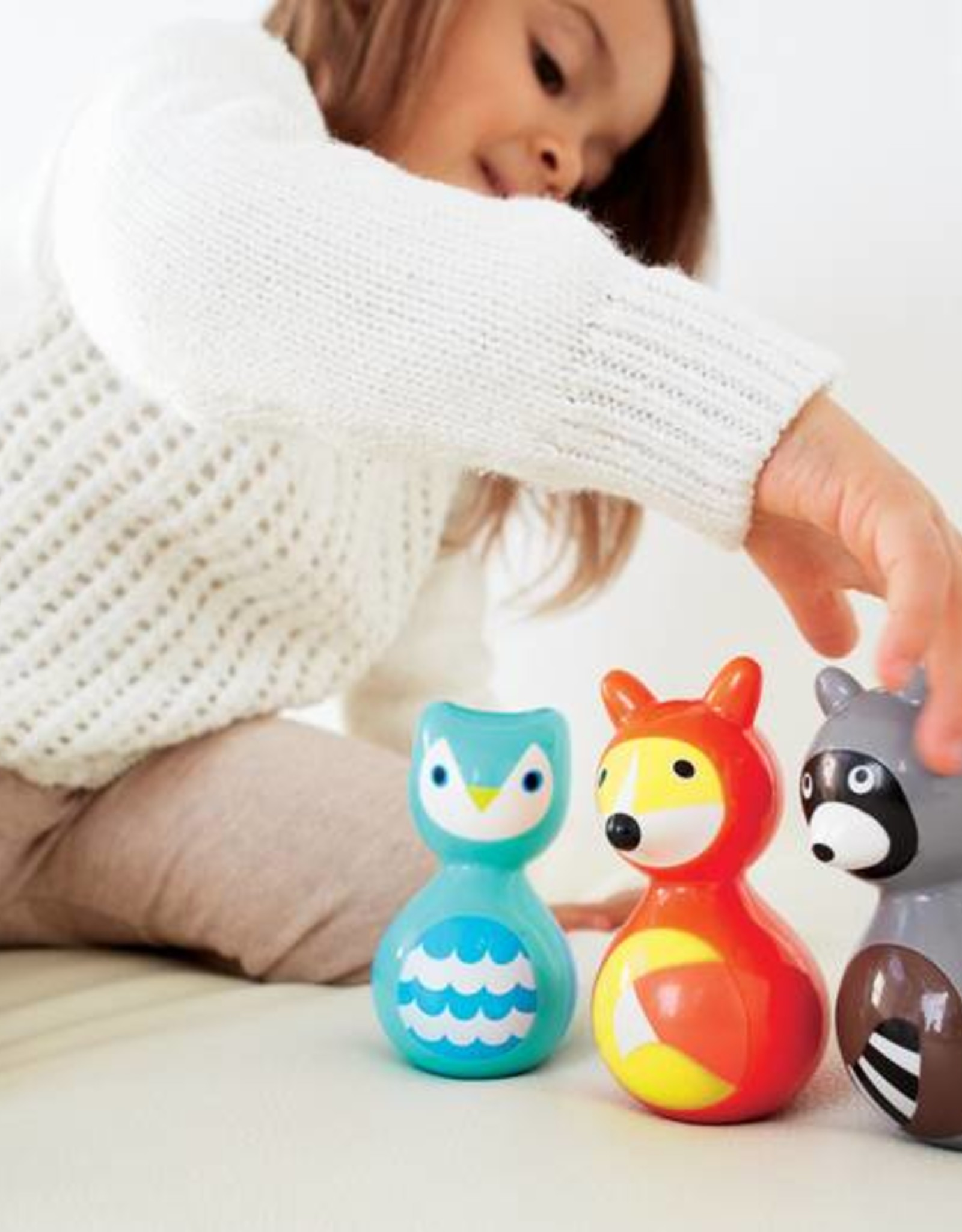 Kid-O Toys raccoon wobble