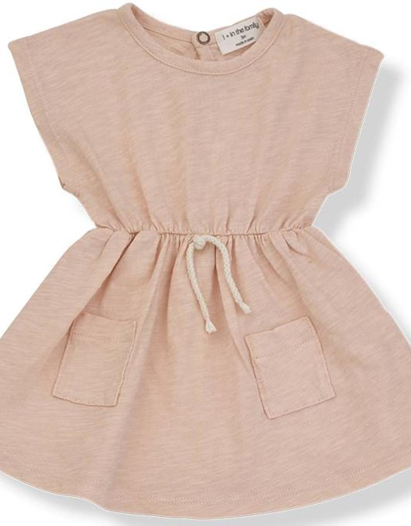 1+ in the Family katya dress- peach