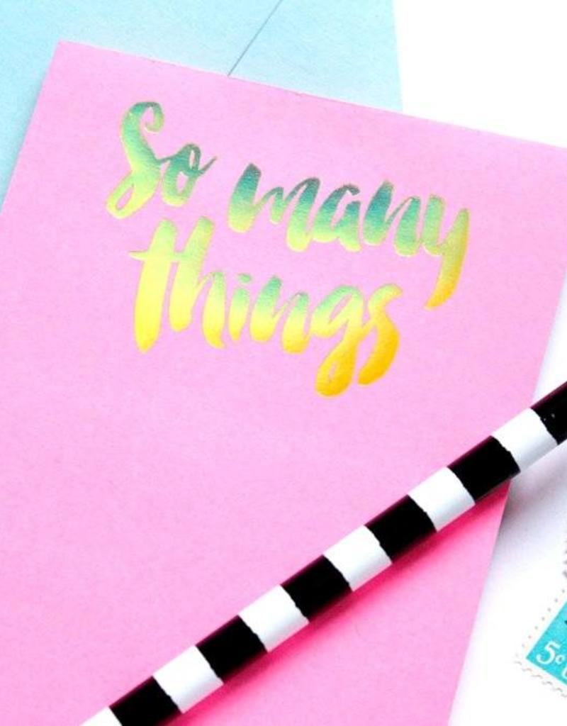 Taylor Elliott Designs so many things notepad