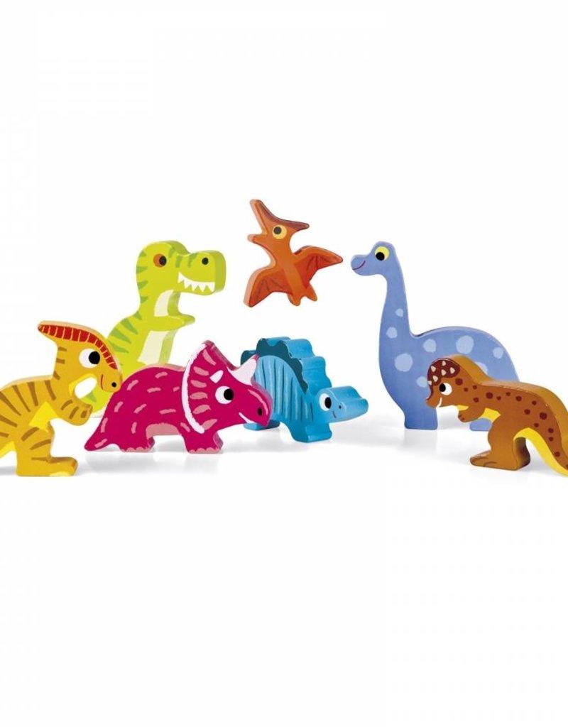 Janod chunky puzzle- dinosaurs