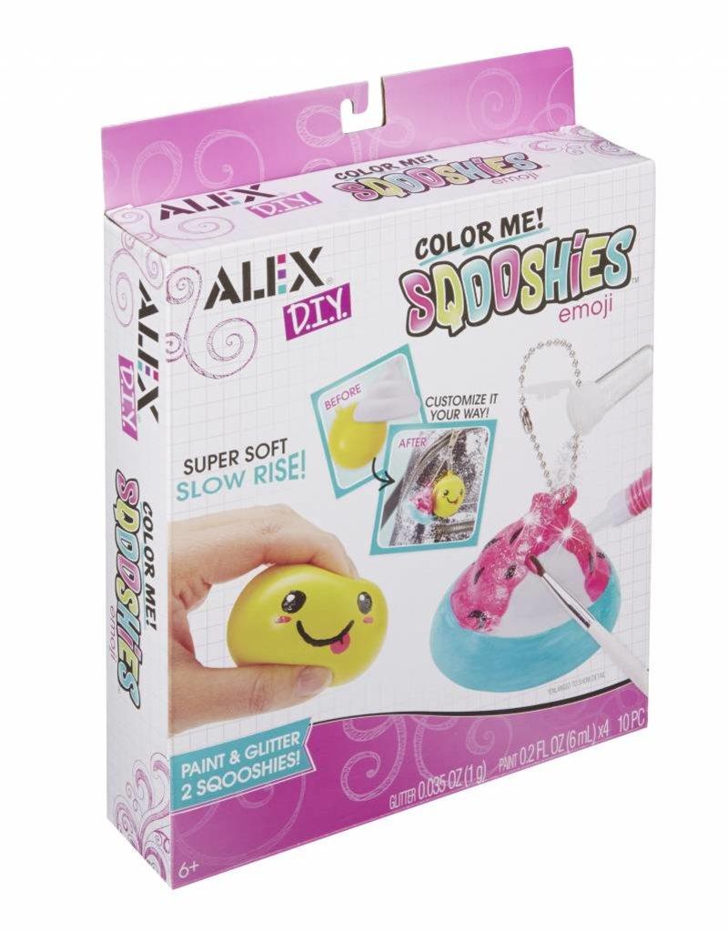 Alex Brands color me sqooshies- emoji