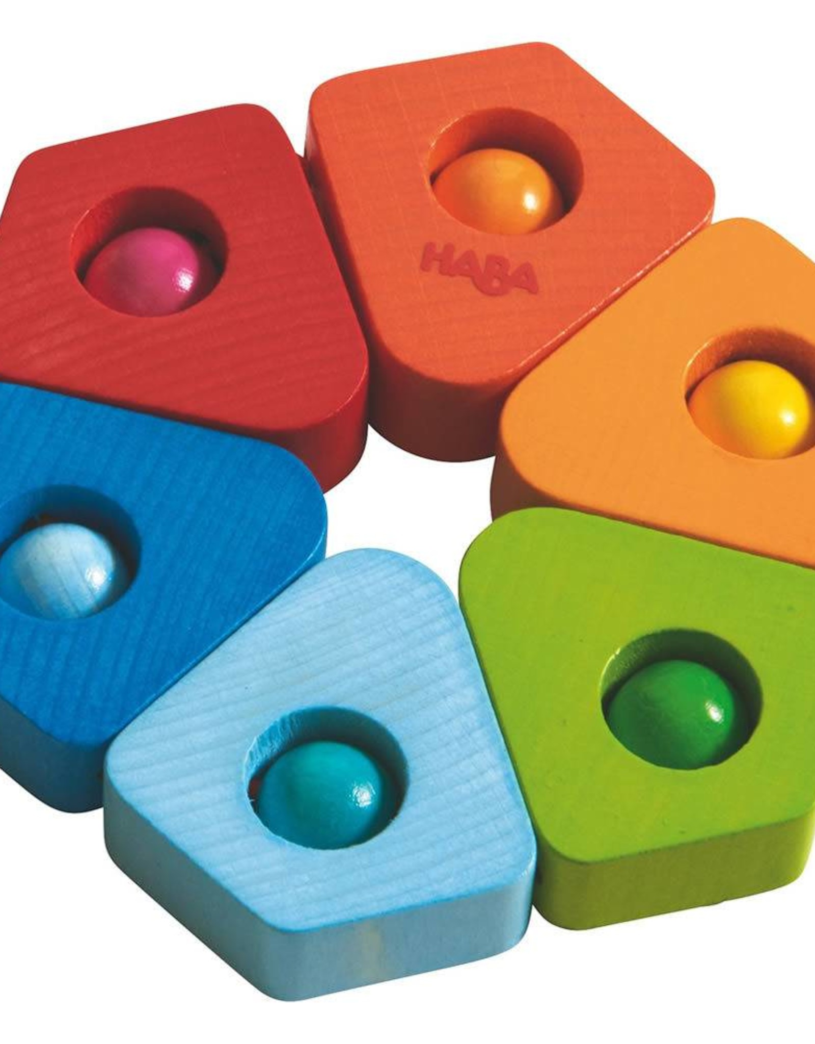 Haba color splodge clutching toy