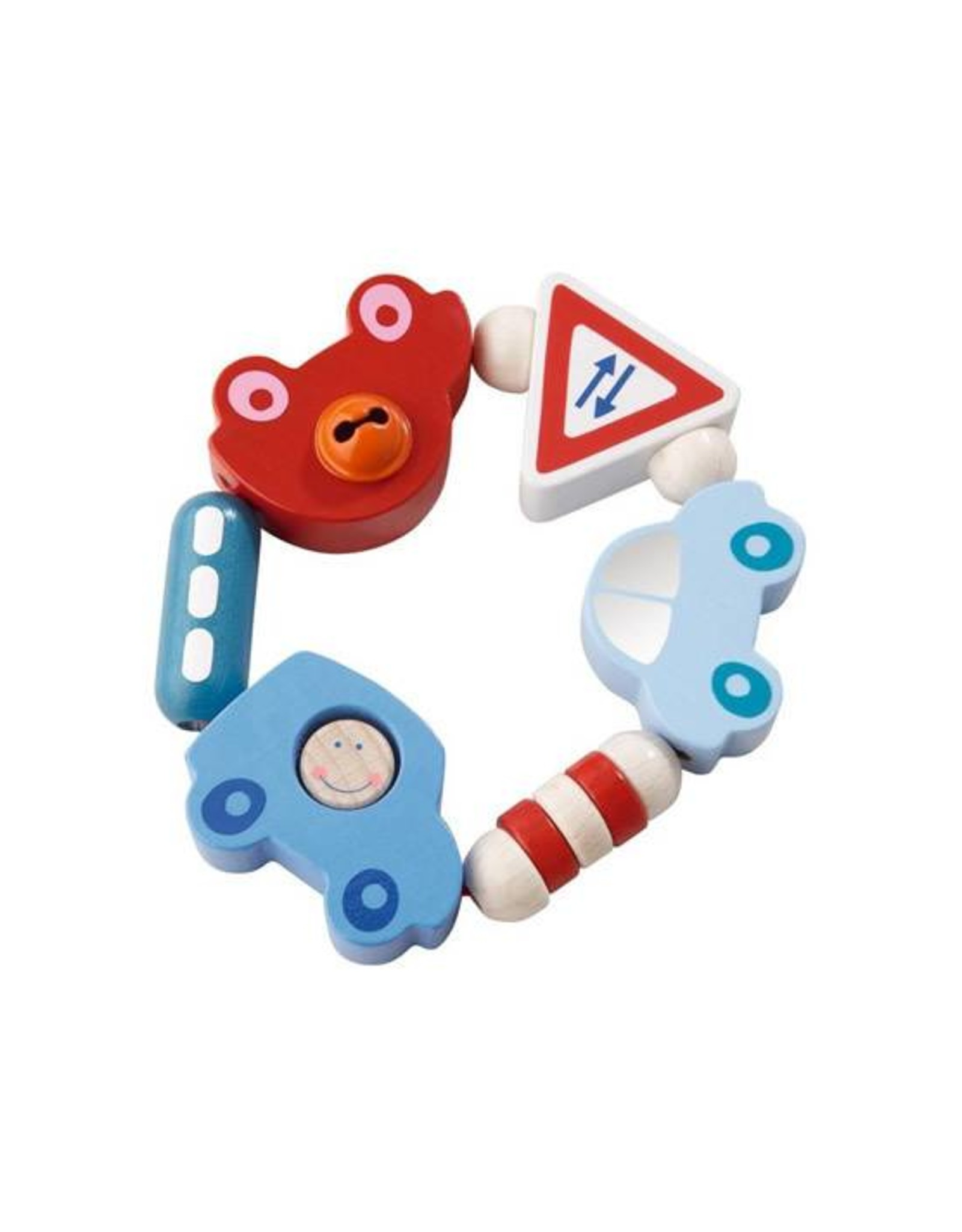 Haba toot toot clutching toy