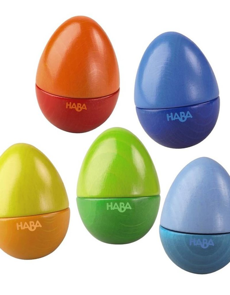 Haba shakin eggs