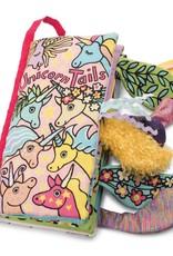 Jellycat unicorn tails book