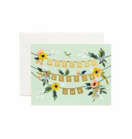 Rifle Paper Co. welcome little one garland card