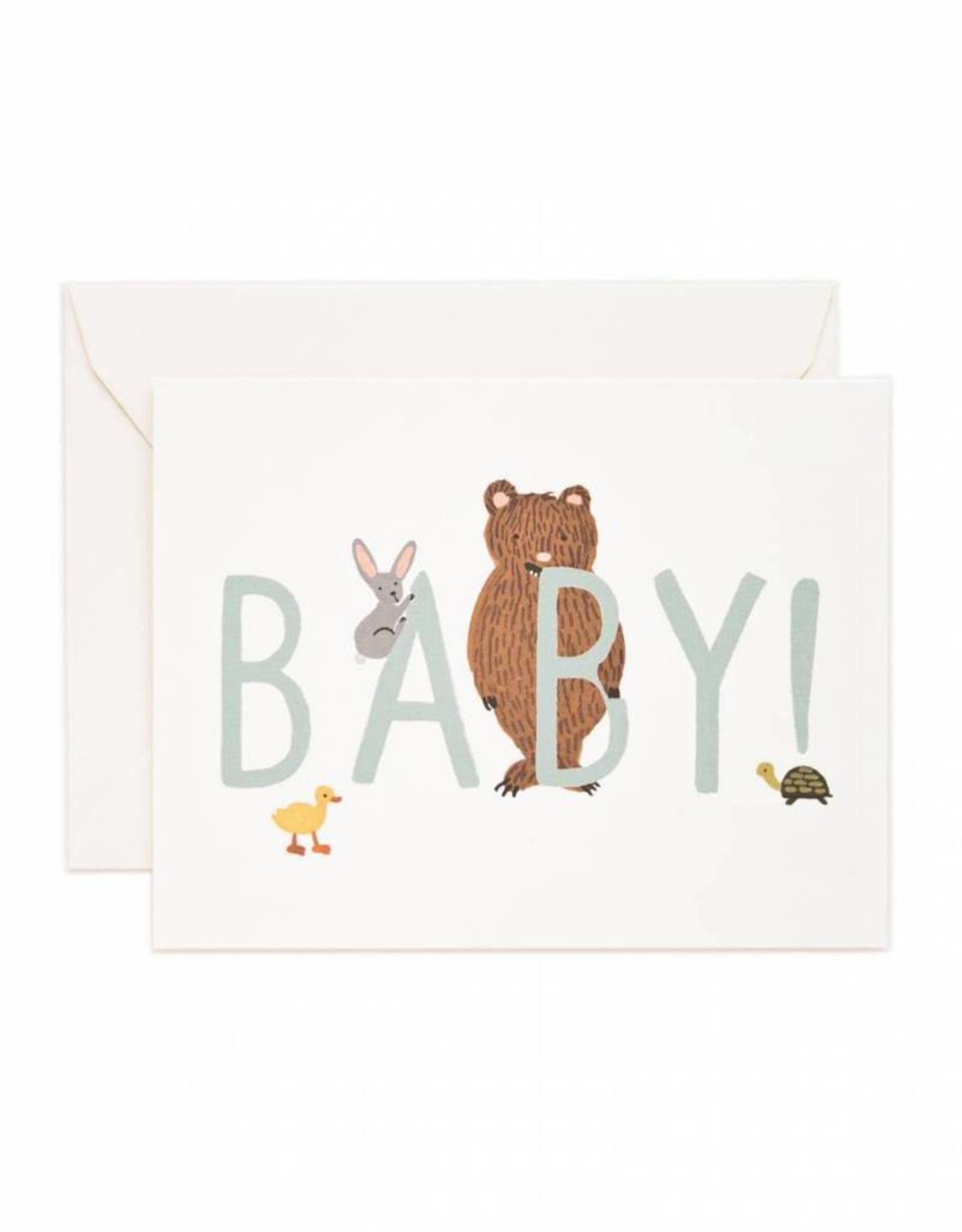 Rifle Paper Co. baby mint card