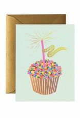 Rifle Paper Co. cupcake birthday card