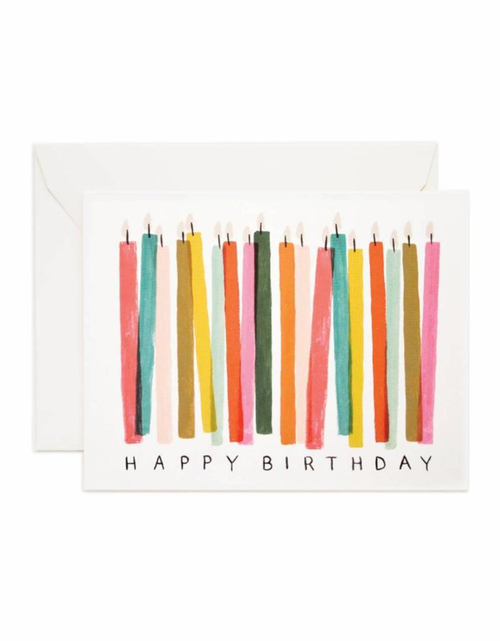 Rifle Paper Co. candles birthday card