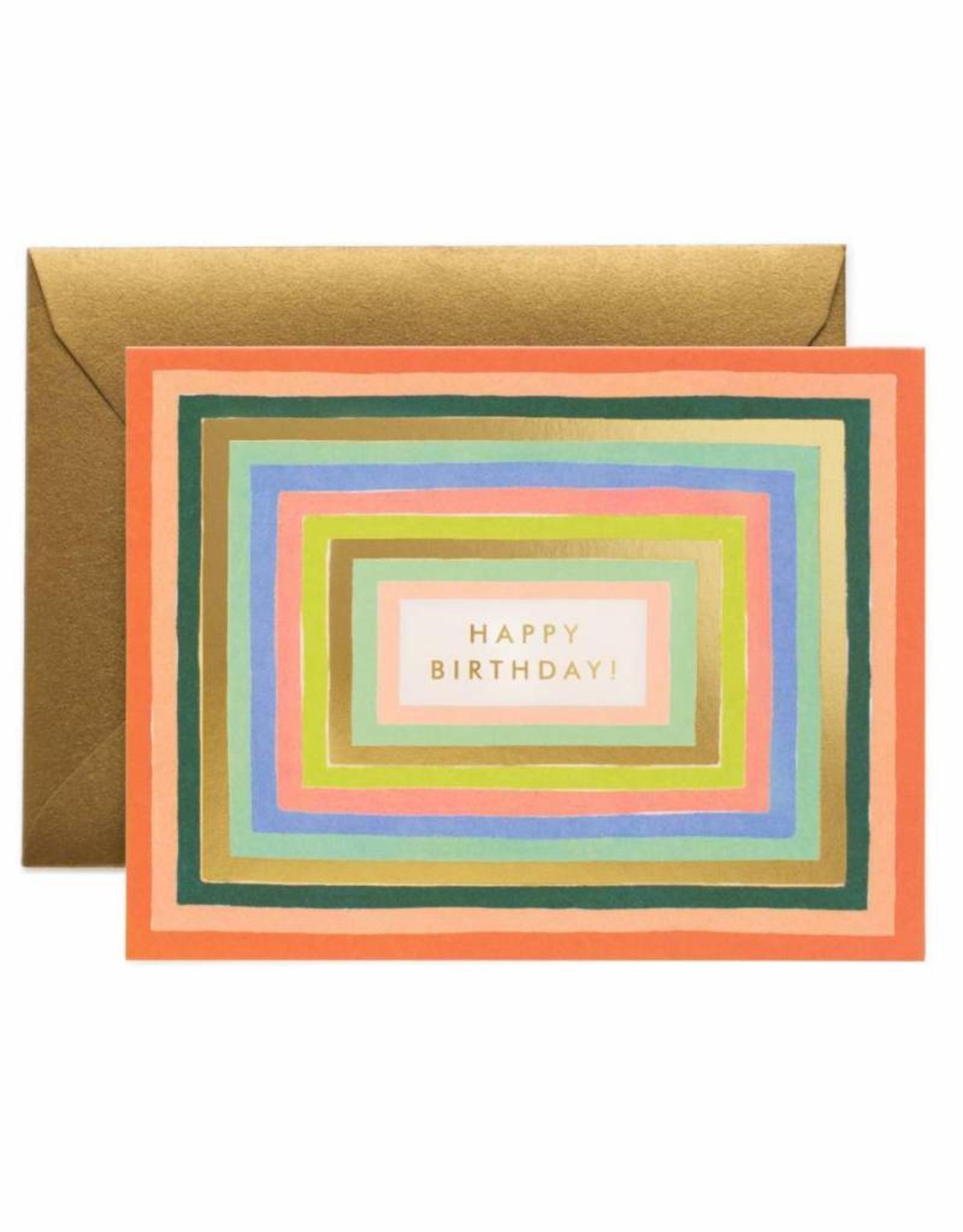 Rifle Paper Co. disco birthday card