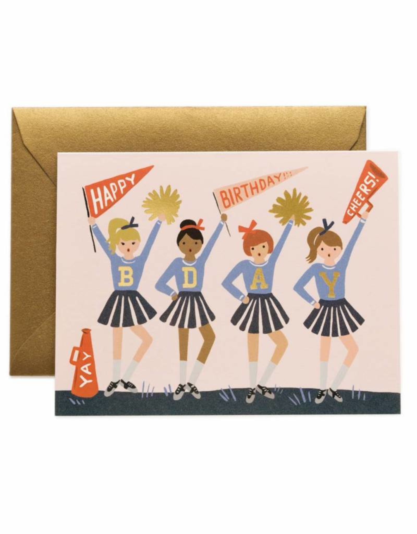 Rifle Paper Co. cheer birthday card