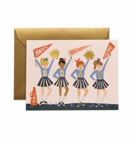 Rifle Paper Co. cheer birthday card