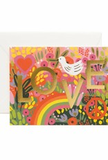 Rifle Paper Co. all you need is love card
