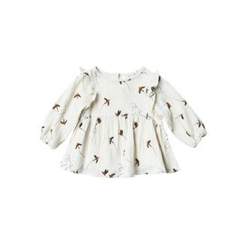 Rylee and Cru sparrow piper blouse- ivory