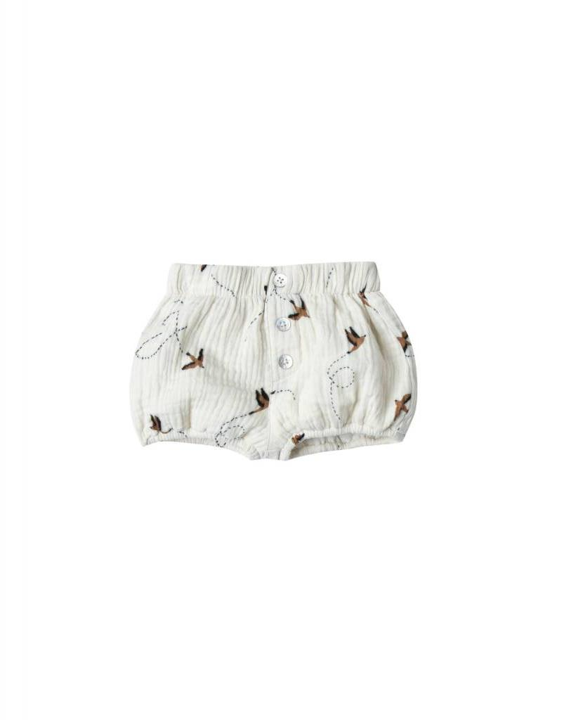 Rylee and Cru sparrow button short- ivory
