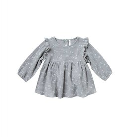 Rylee and Cru twinkle piper blouse- washed denim