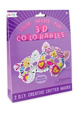 OOLY 3D colorables- creative creature mask