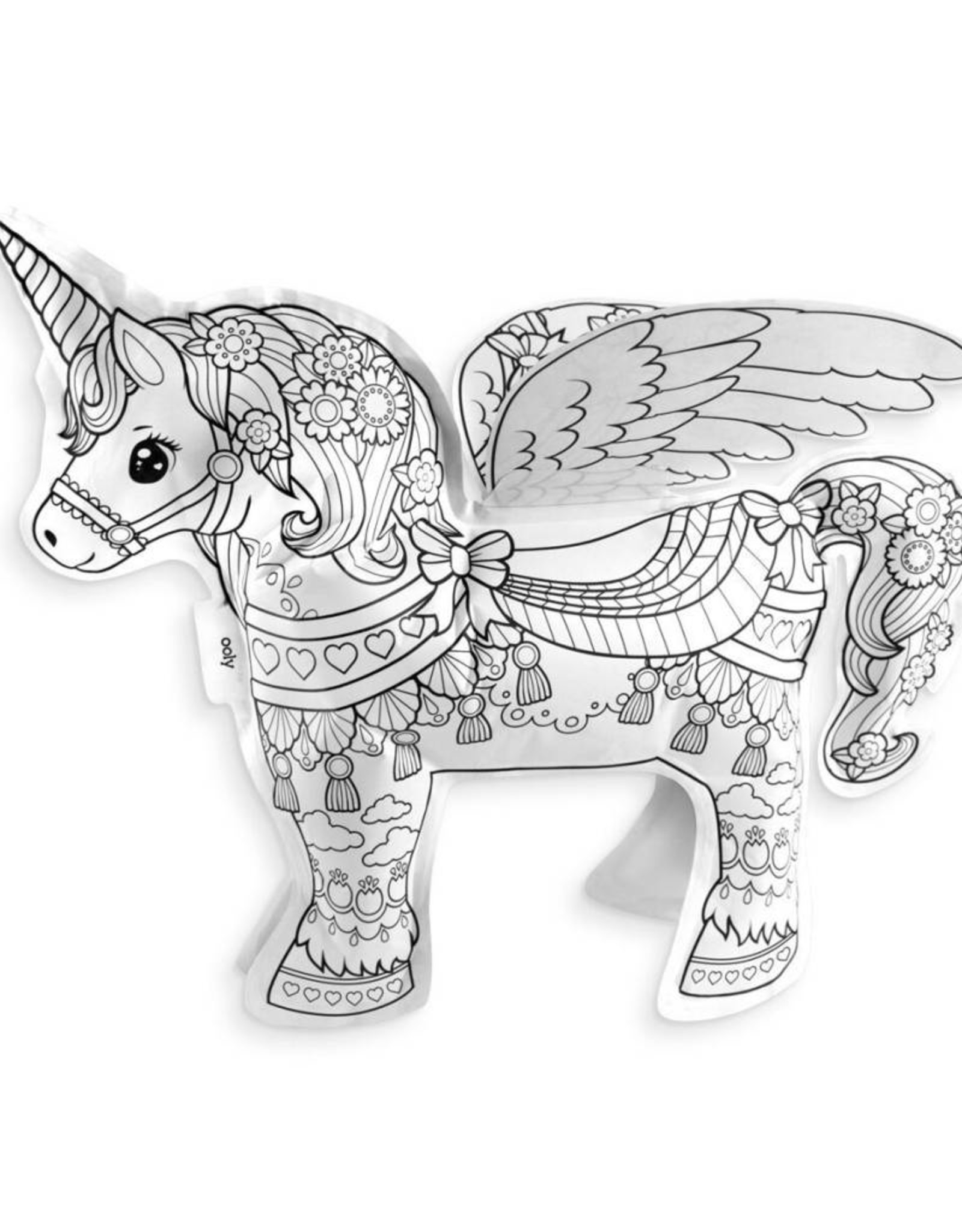 OOLY 3D colorables- magic unicorn