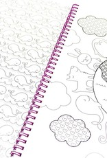 OOLY cozy critters color-in' book
