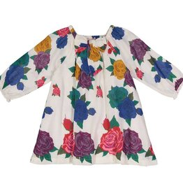 Pink Chicken lexi dress- multi roses