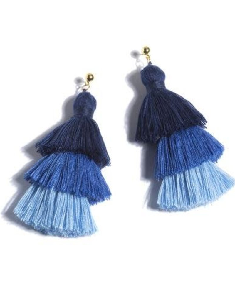 Shiraleah aria earrings- blue
