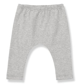 1+ in the Family pia leggings- mid grey/ecru