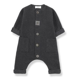 1+ in the Family kilian jumpsuit- anthracite