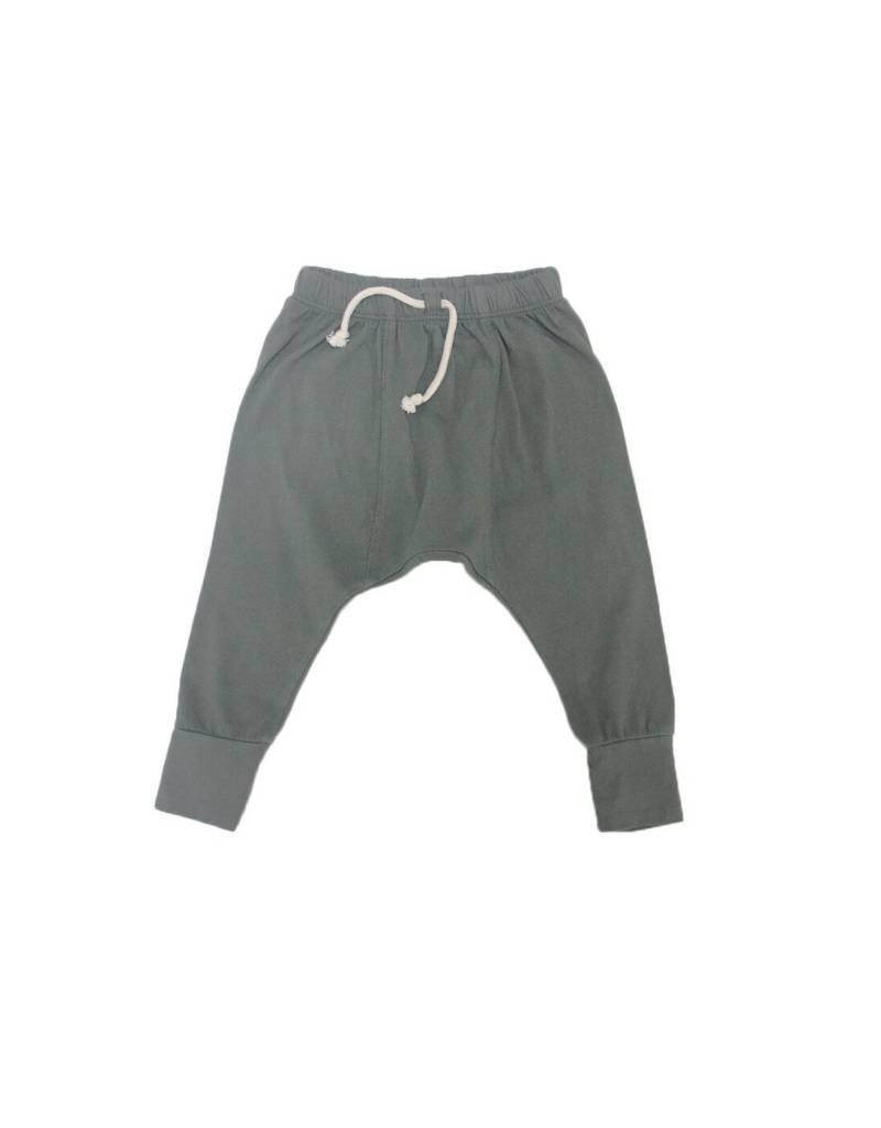 Go Gently Nation jersey harem pants- military