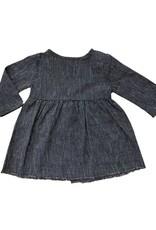 Go Gently Nation baby prairie dress- navy stripe
