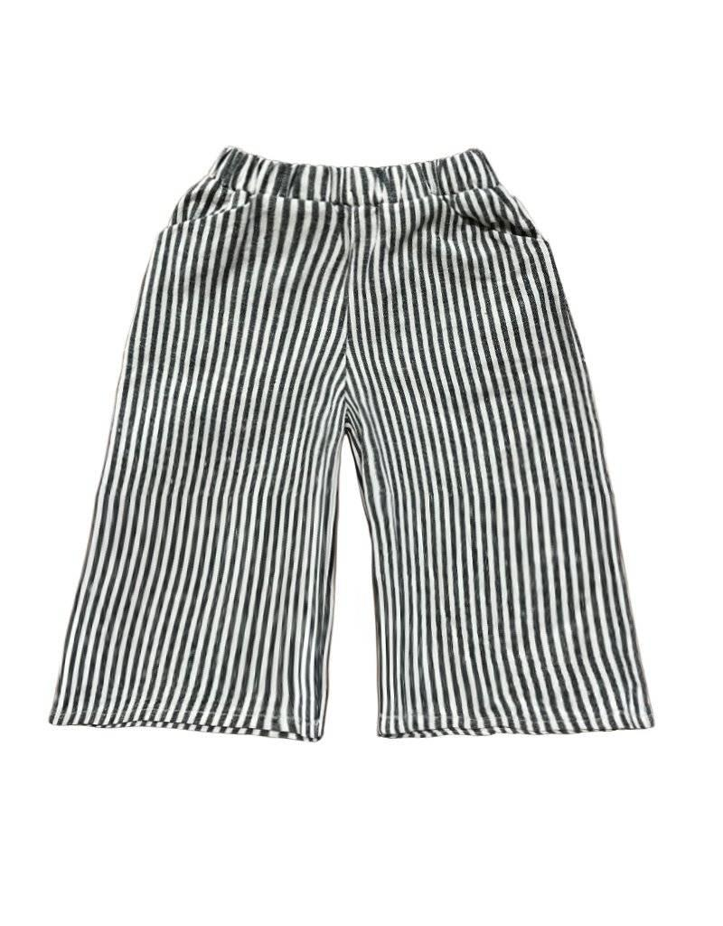 Go Gently Nation culotte- vertical stripe
