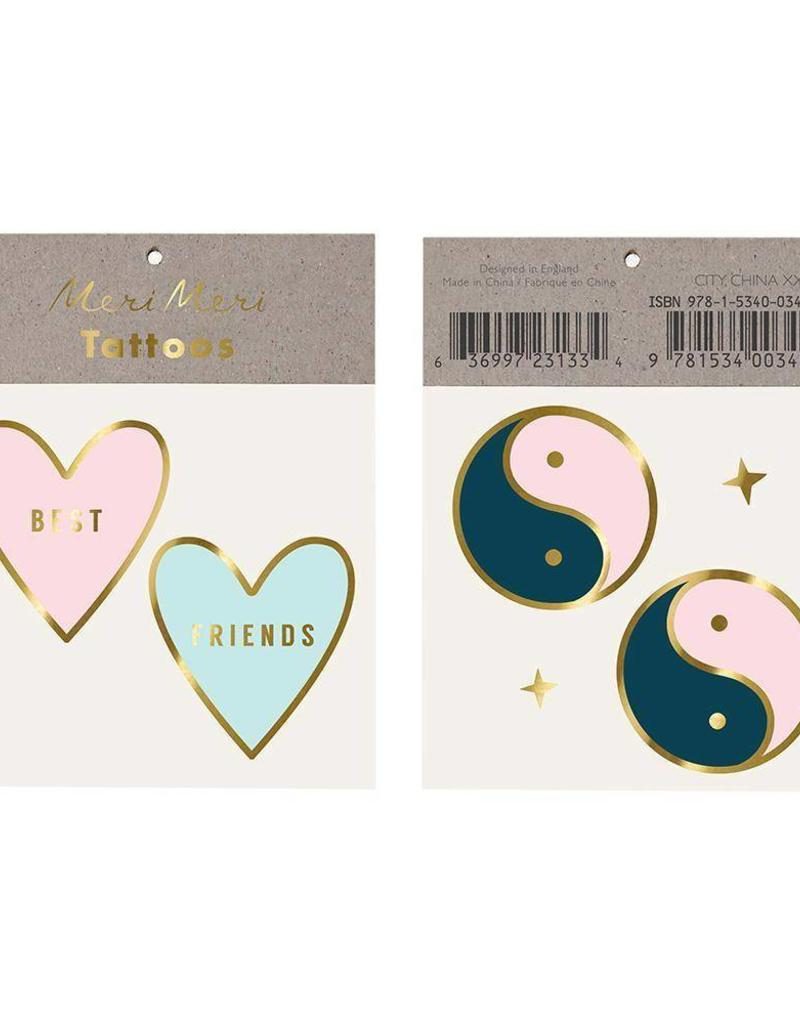 Meri Meri best friend tattoos