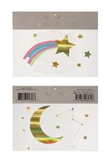 Meri Meri rainbow shooting star tattoo