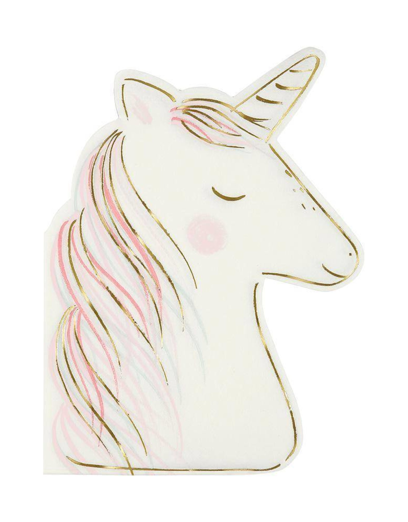 Meri Meri magical unicorn napkin