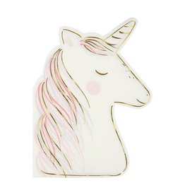 Meri Meri magical unicorn napkin