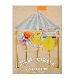 Meri Meri silly circus cake topper