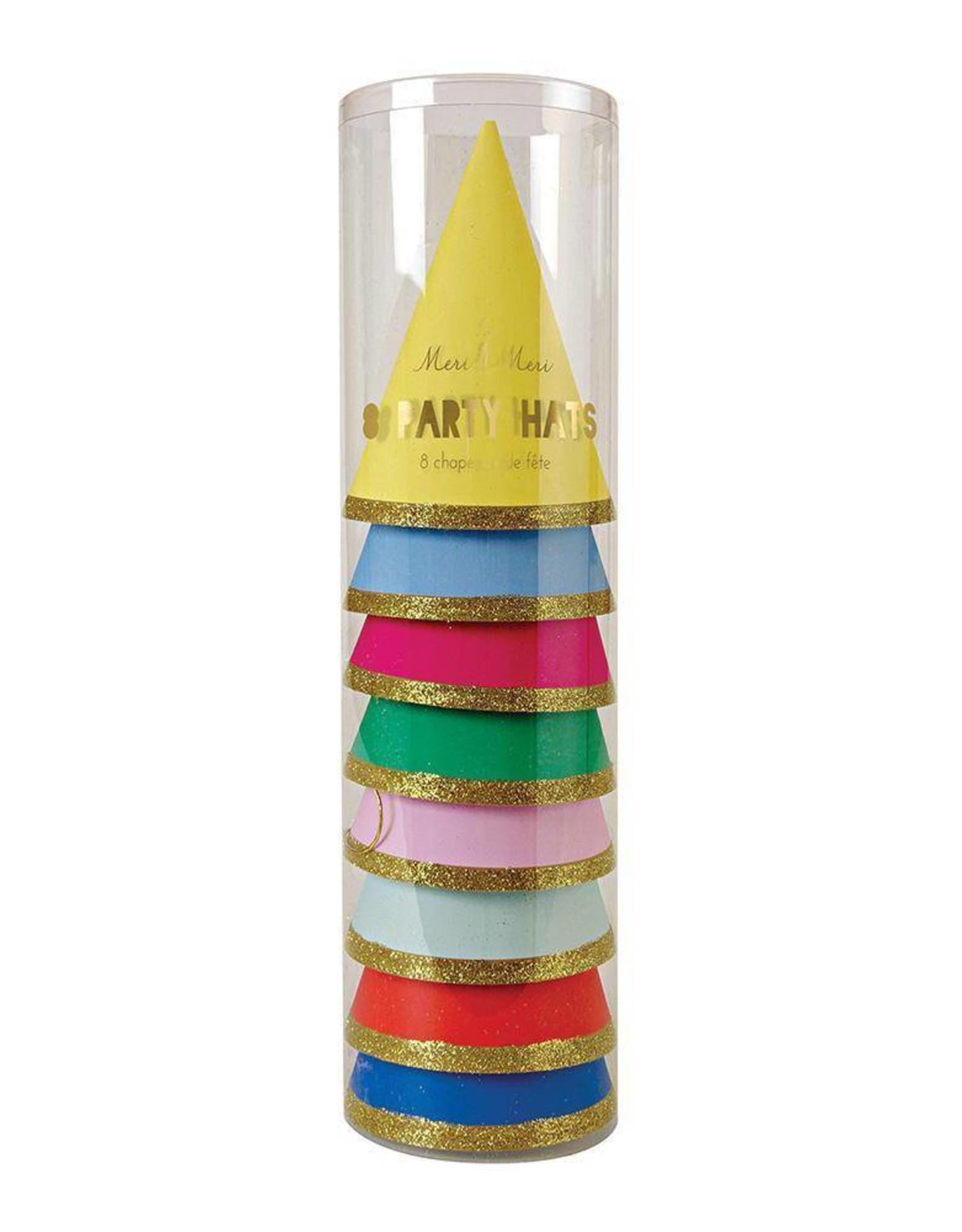 Meri Meri happy birthday party hats