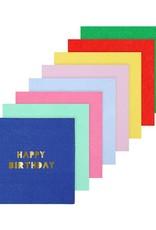 Meri Meri happy birthday napkins small