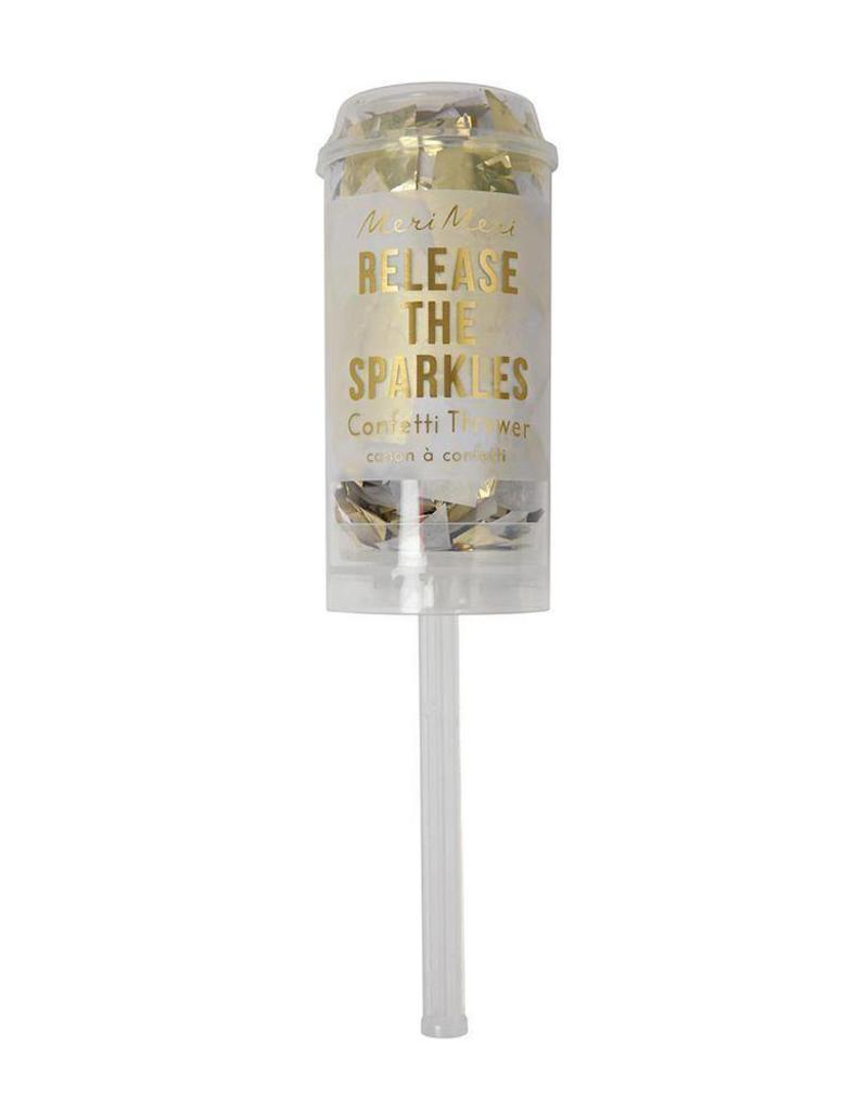 Meri Meri gold confetti popper