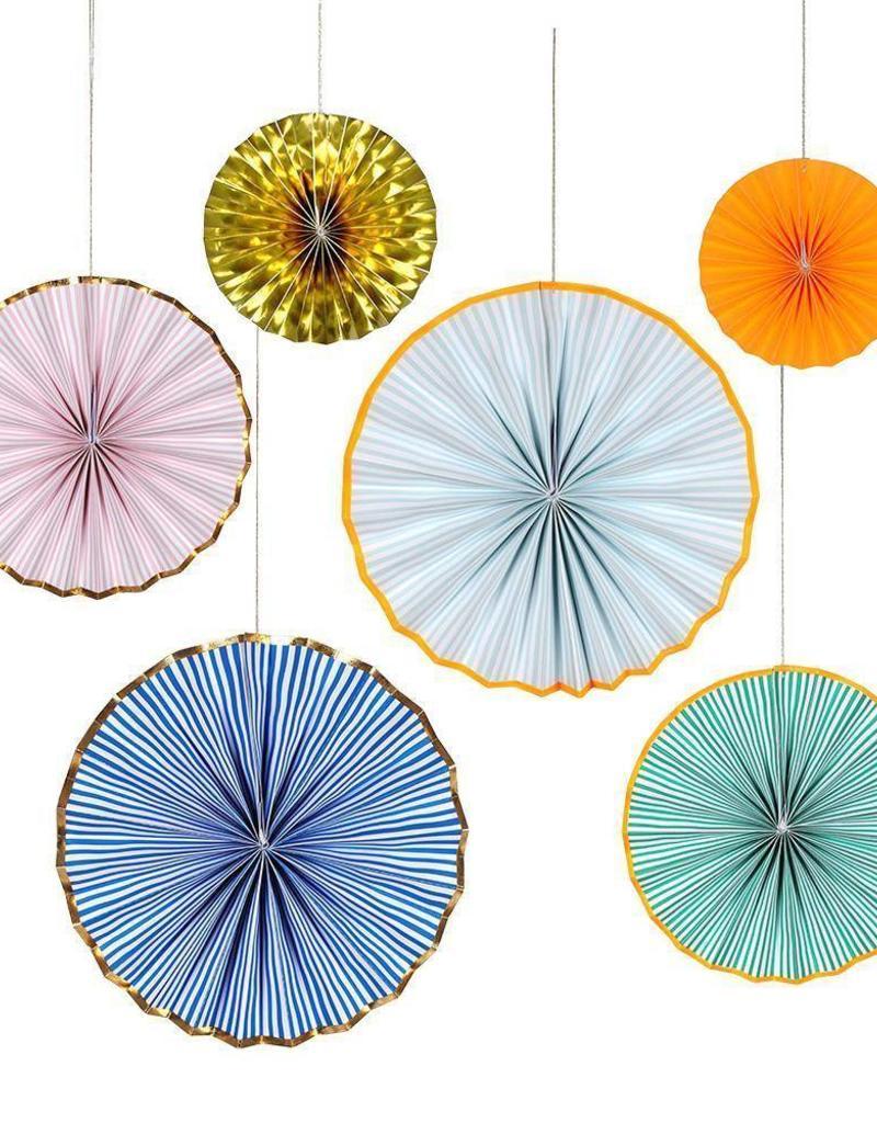 Meri Meri bright stripe pinwheels