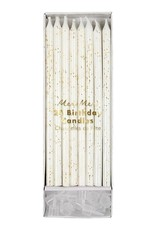 Meri Meri gold glitter birthday candles
