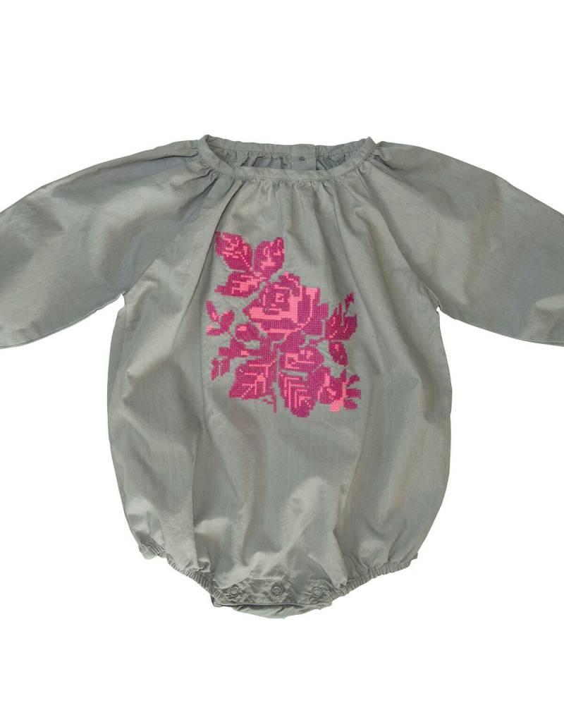 Everbloom grey floral bubble