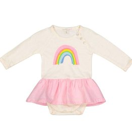 Everbloom rainbow skirted onesie