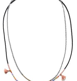 Shashi Delilah Lilu Necklace Nude