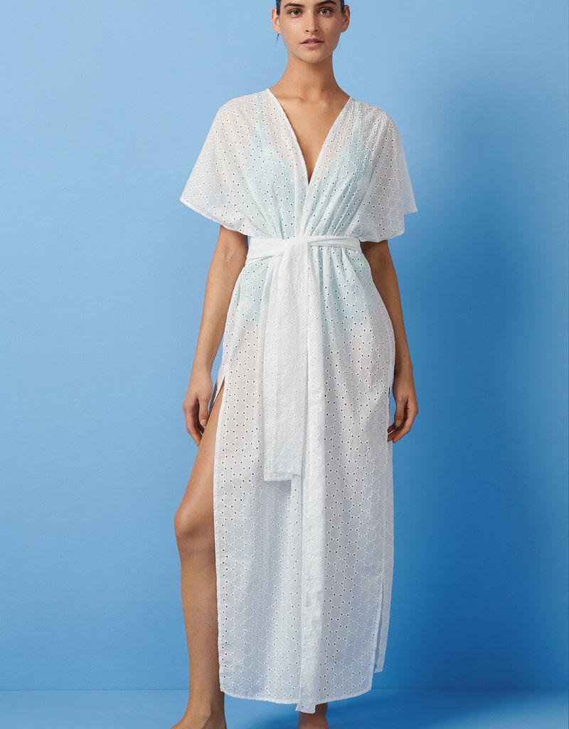 06a1c5774 Paolita Core White Maxi Kimono - Sal de Mar