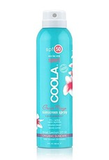 Coola Sport Spray sunscreen SPF50 Guava Mango 8oz