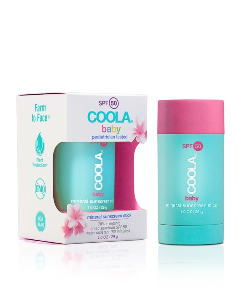 3a8fb6167 Coola Mineral Baby SPF 50 Stick Unscented