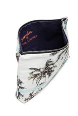 Samudra Blue Palm Pouch