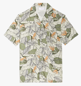 Onia Birds of Paradise Palm Deep Sage Vacation Shirt