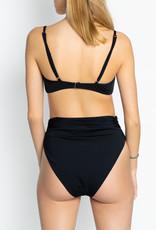 Mara Hoffman Black Nereo Goldi & Lua Bikini