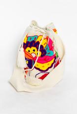 Bolsa Colombiana Beige C/Colores